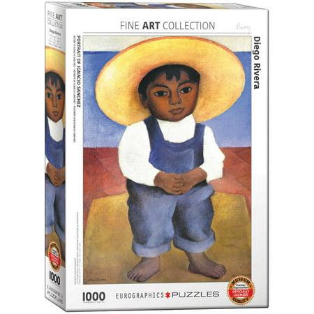 Diego Sanchez Mma (Diego Rivera Portrait of Ignacio Sanchez)