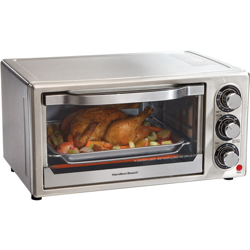 Hamilton Beach Stainless Steel 6-Slice Toaster Oven