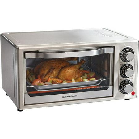 Hamilton Beach 31511 6-Slice Toaster Oven Stainless-Steel