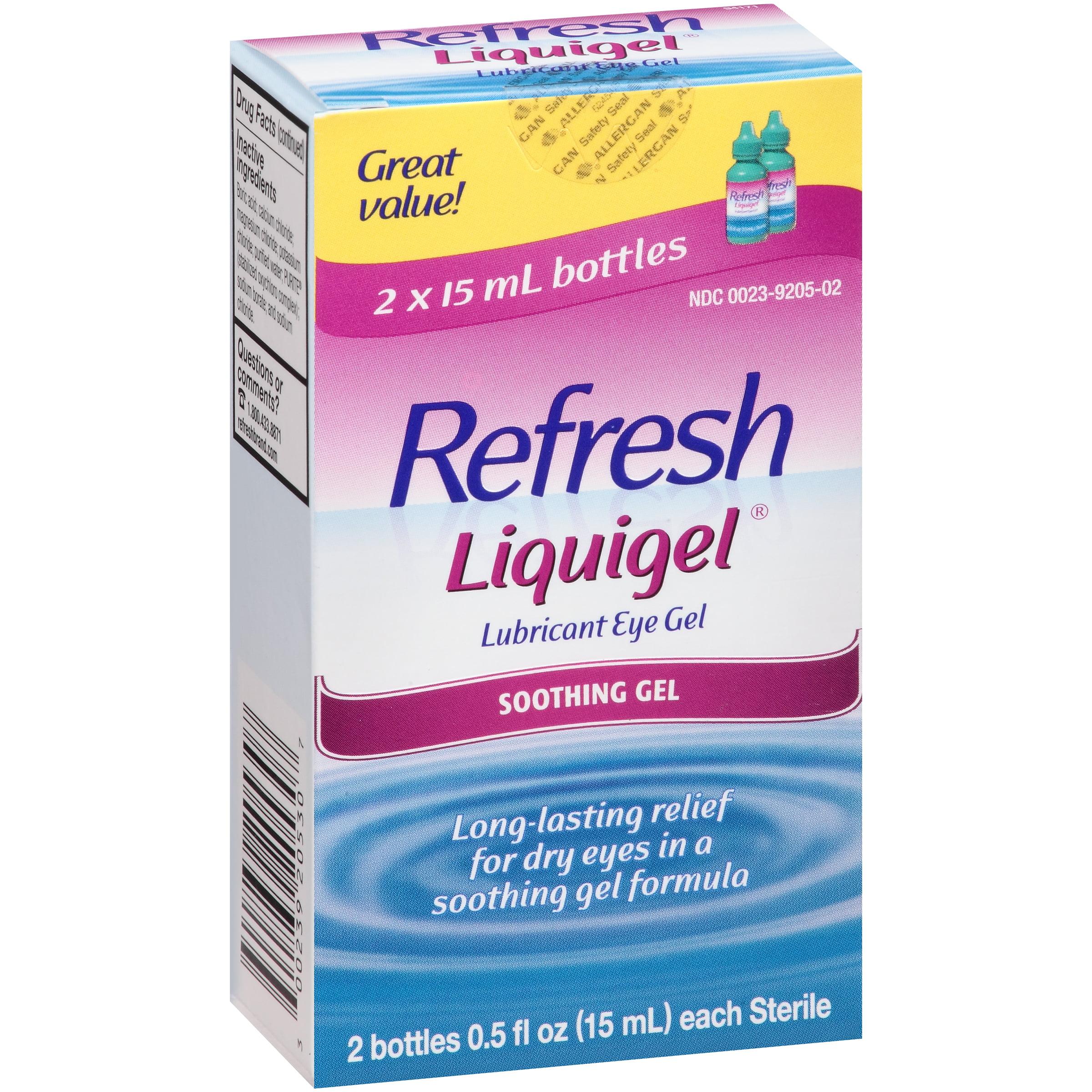 Refresh Liquigel�� Lubricant Eye Gel 2-0.5 fl. oz. Bottles