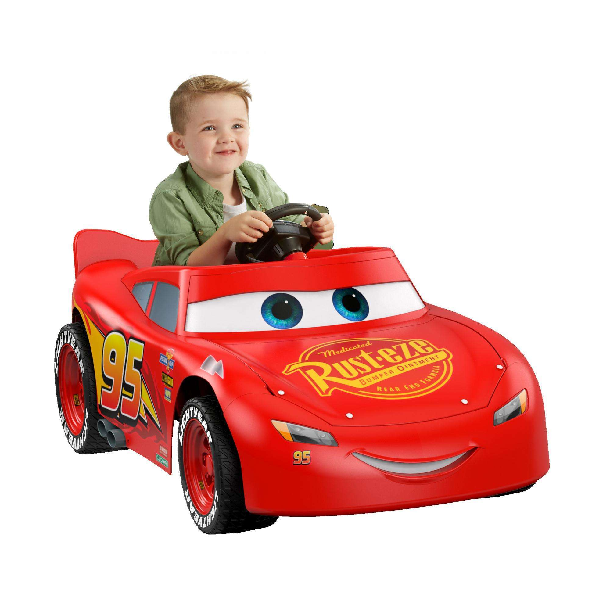 Power Wheels Disney�Pixar Cars 3 Lightning McQueen Ride-On by FISHER PRICE