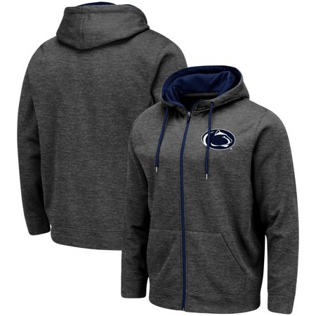Penn State Nittany Lions Colosseum Performance Full-Zip Hoodie - Charcoal