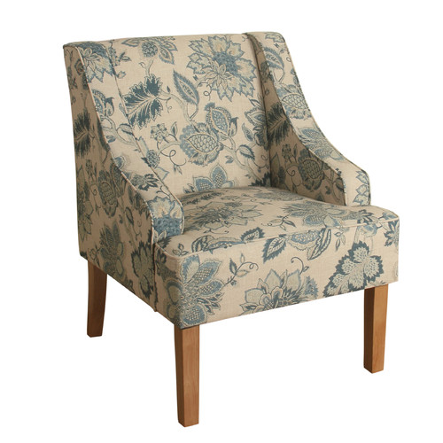 HomePop Lexie Swoop Arm Accent Chair