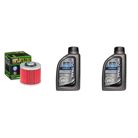 Complete Engine Oil 10W-40 Change Kit for ATV YAMAHA YFM700 R-V,W,X,Y,Z,A,B,D,E,F Raptor 1AS 06-15