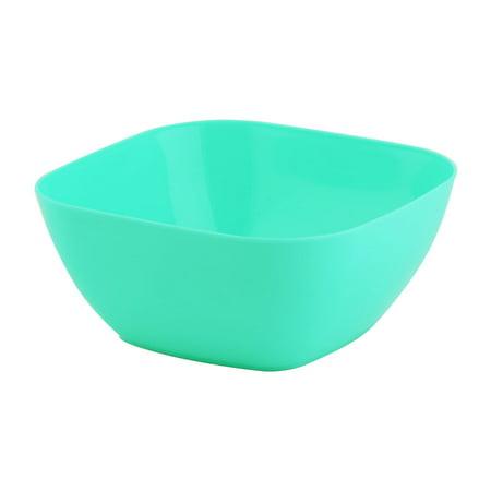 Home Plastic Square Food Fruit Vegetable Salad Snack Nut Candy Holder Bowl -