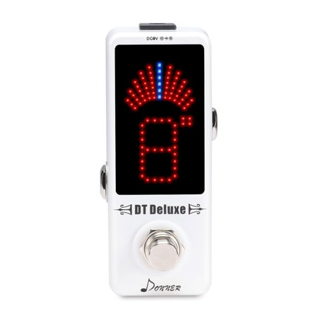 Donner DT Deluxe Guitar Chromatic Tuner Pedal