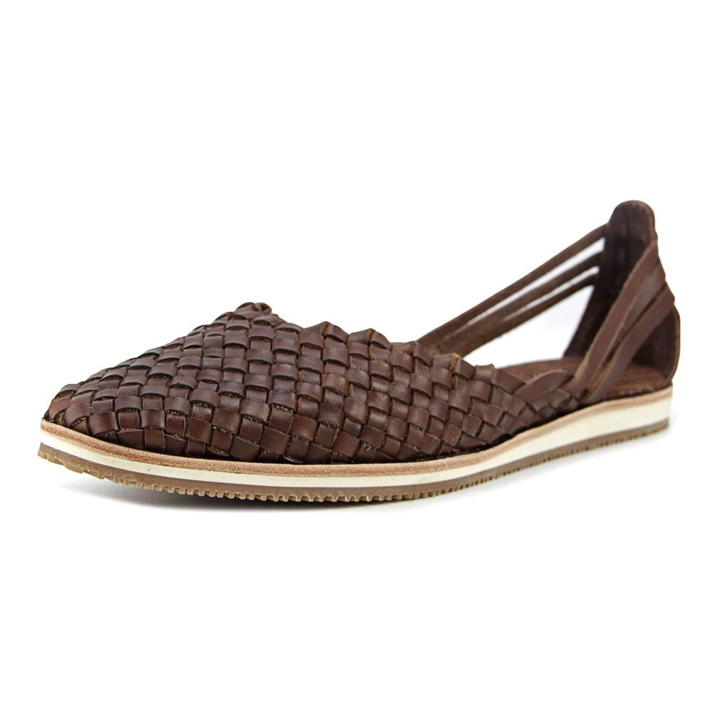 Tommy Bahama Frinna Women Round Toe Leather Brown Loafer by Tommy Bahama