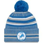 Detroit Lions New Era 2019 NFL Sideline Home Official Sport Knit Hat - Blue/Silver - OSFA