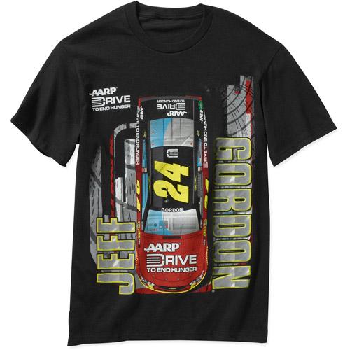 NASCAR Men's Gordon Dupont Black Short-Sleeve Tee