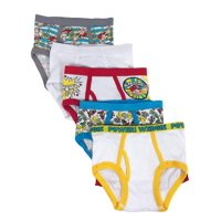 5 Pack Captain Underpants Boys Briefs