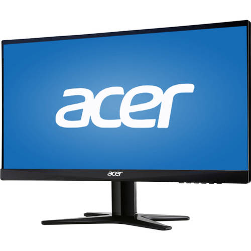 """Factory Recertified Acer 23"""" LCD Widescreen Monitor (G237HL Black)"""