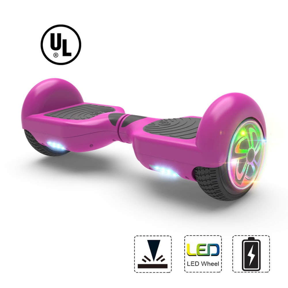 "Hoverboard Flash Wheel Two-Wheel Self Balancing Electric Scooter 6.5"" UL 2272... by V104C"