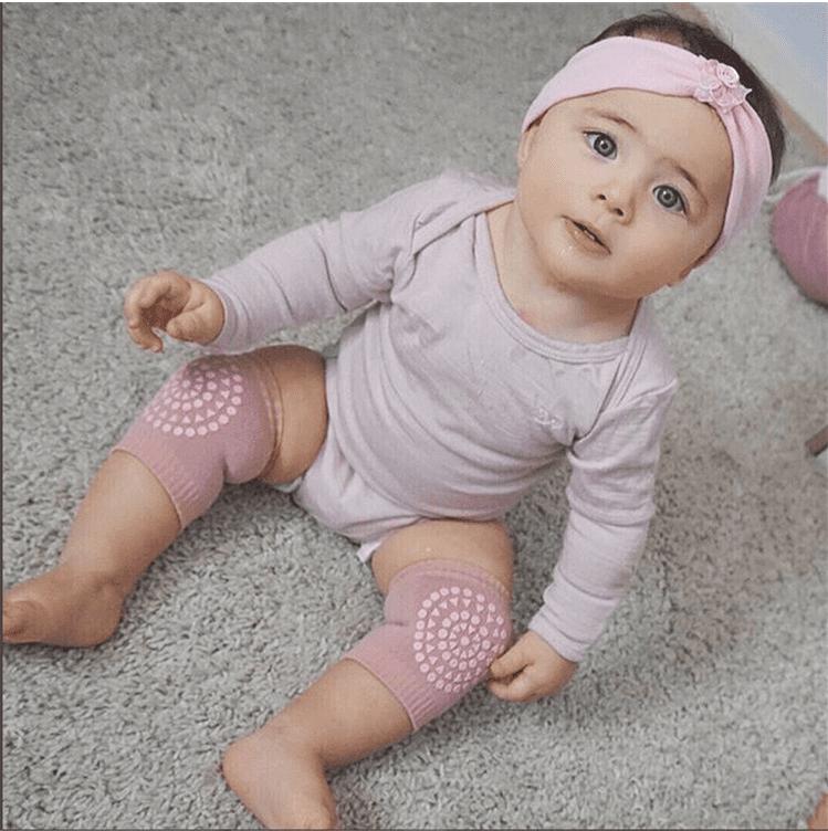 Unisex Baby Knee Pads Crawling Toddler Knee Elbow Protection Anti-Slip