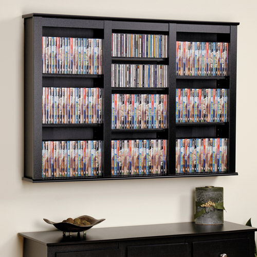 Prepac Triple Wall Mounted Storage Shelf