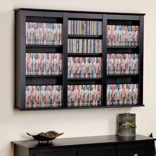Prepac Triple Wall Mounted Storage Shelf