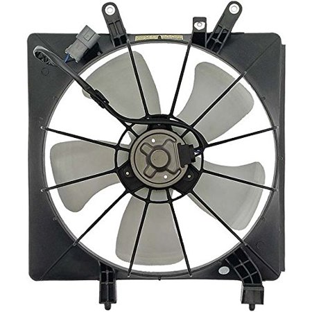 Engine Cooling Fan Assembly - Pacific Best Inc For/Fit HO3115115 01-05 Honda Civic Coupe/Sedan
