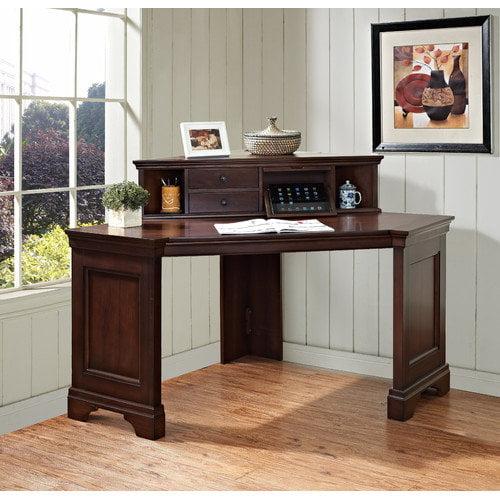 E-Ready Belcourt Corner Writing Desk with Hutch