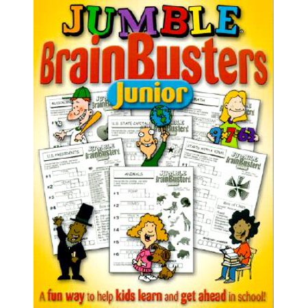 Jumble® BrainBusters Junior : A Fun Way to Help Kids Learn and Get Ahead in