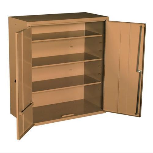 Knaack Jobsite Wall Cabinet, Steel, Tan, 33