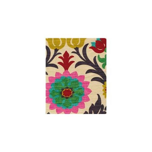 Waverly SANDES1 Santa Maria 100 Percent Cotton Fabric, 54 inch x 1 Yard
