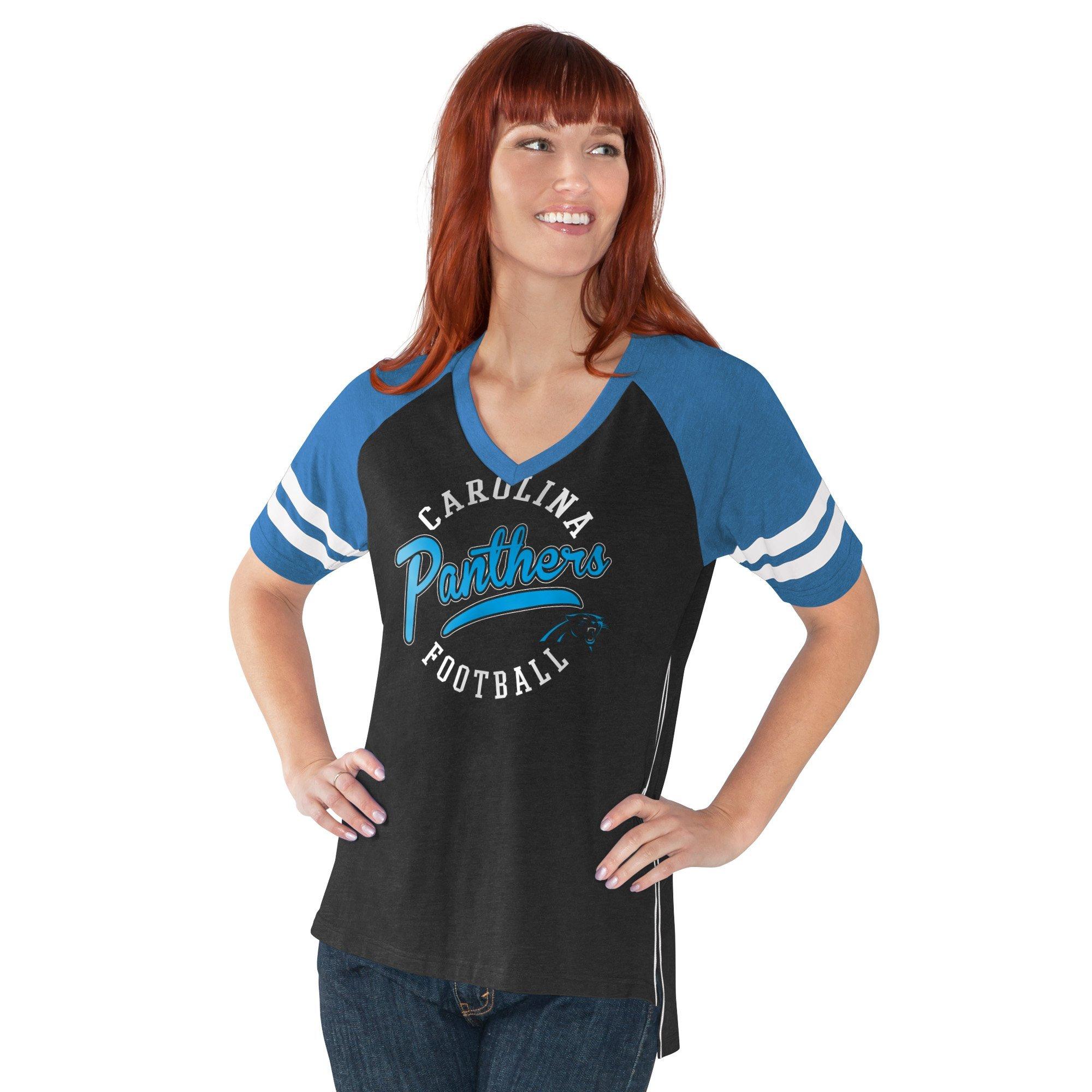 Carolina Panthers V-Neck Morgan T-Shirt