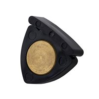 Alpine Menhuin Mute D260 Violin and Viola Professional Black with Gold Shield