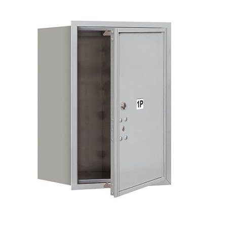 Salsbury Industries Aluminum 1 Unit Parcel Locker