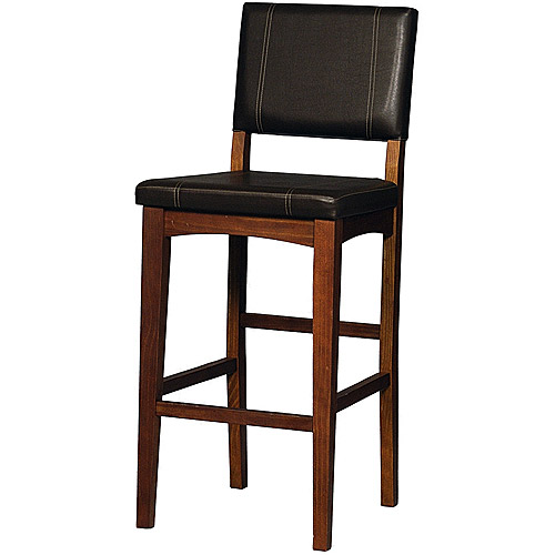Linon Milano Bar Stool 30 Inch Seat Height Multiple Colors