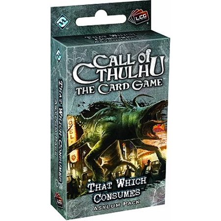 That Which Consumes Asylum Pack Call of Cthulhu LCG Fantasy Flight Game
