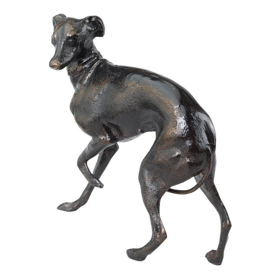 The Loyal Whippet Authentic Foundry Iron Casting - Set of Two