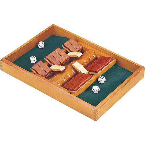 CHH Double-Sided 9 Number Shut The Box