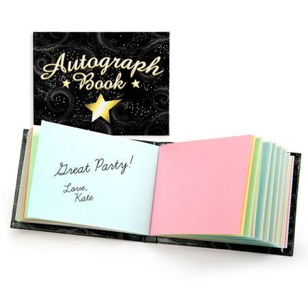 Autograph Book - Party Supplies - Walmart.com