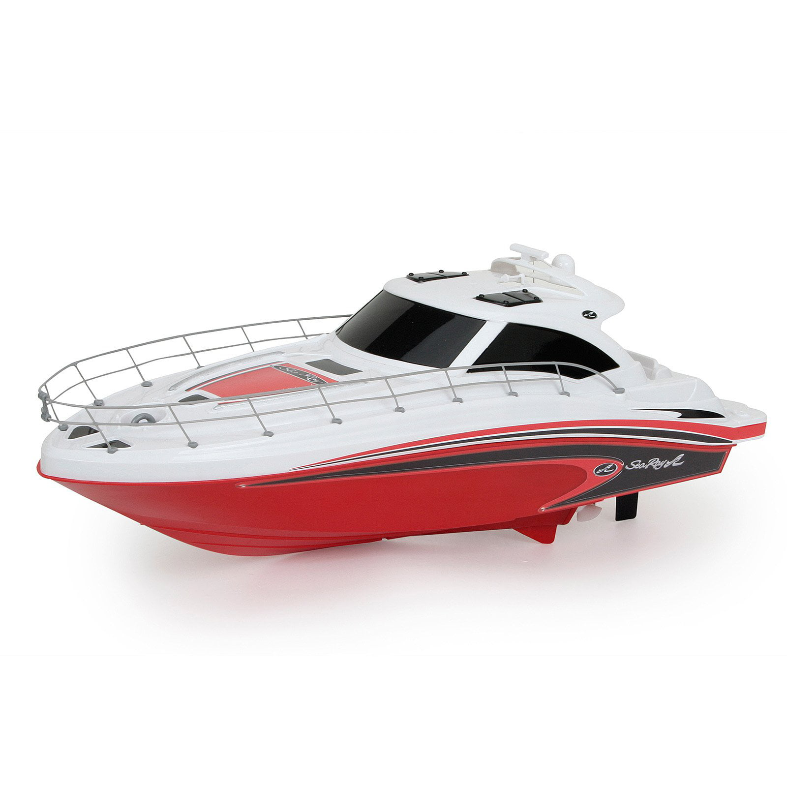 New Bright Sea Ray Boat Radio Controlled Toy Red by Overstock
