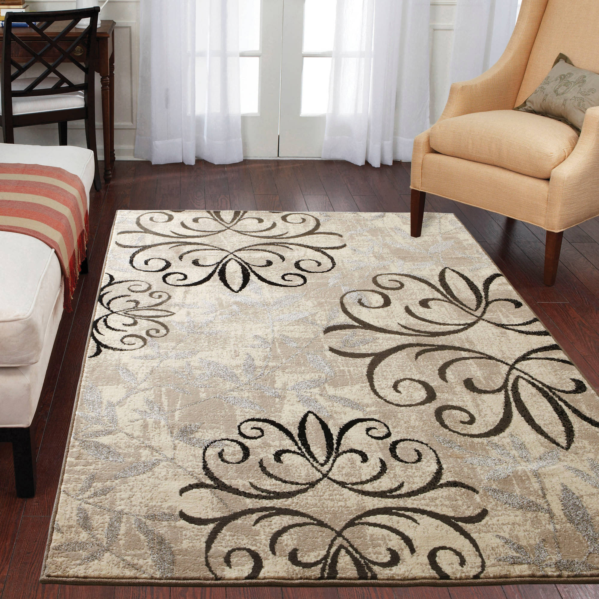 living room rugs walmart better homes and gardens iron fleur area rug available in 12423