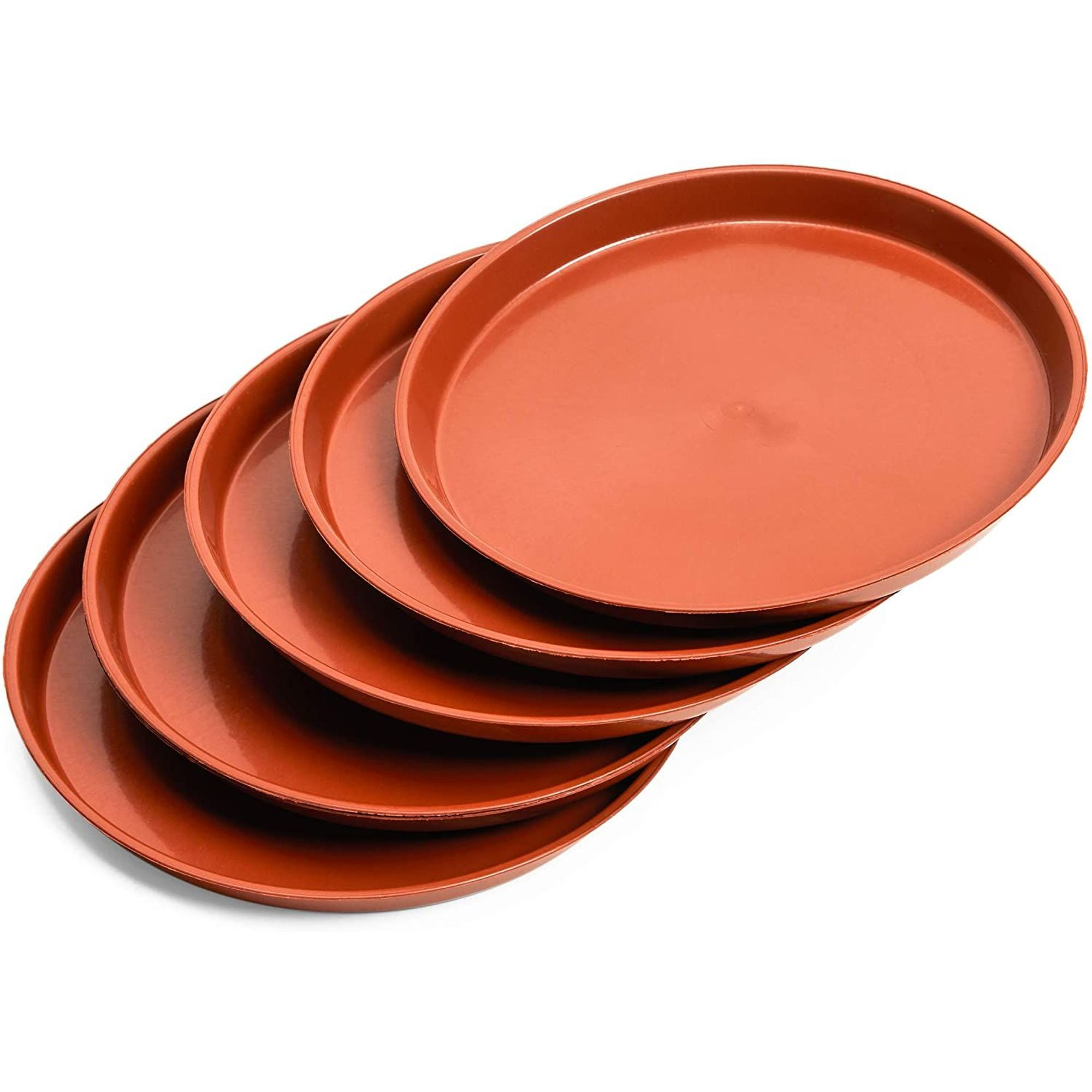 Flower Pot Round Plastic Tray Saucers Drip Trays Indoor Outdoor Plant Saucer