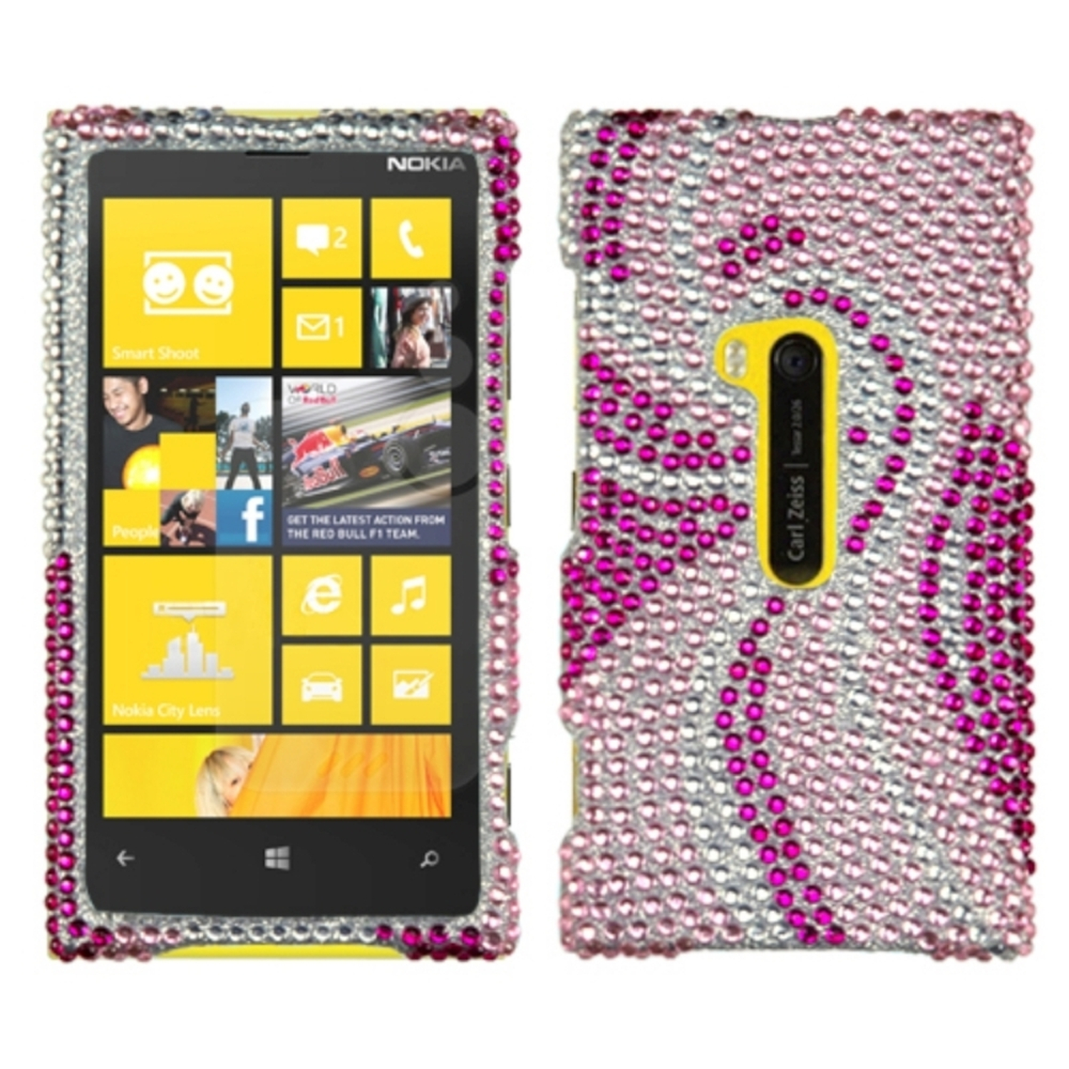 Insten Phoenix Tail Diamante Case for NOKIA: 920 (Lumia)
