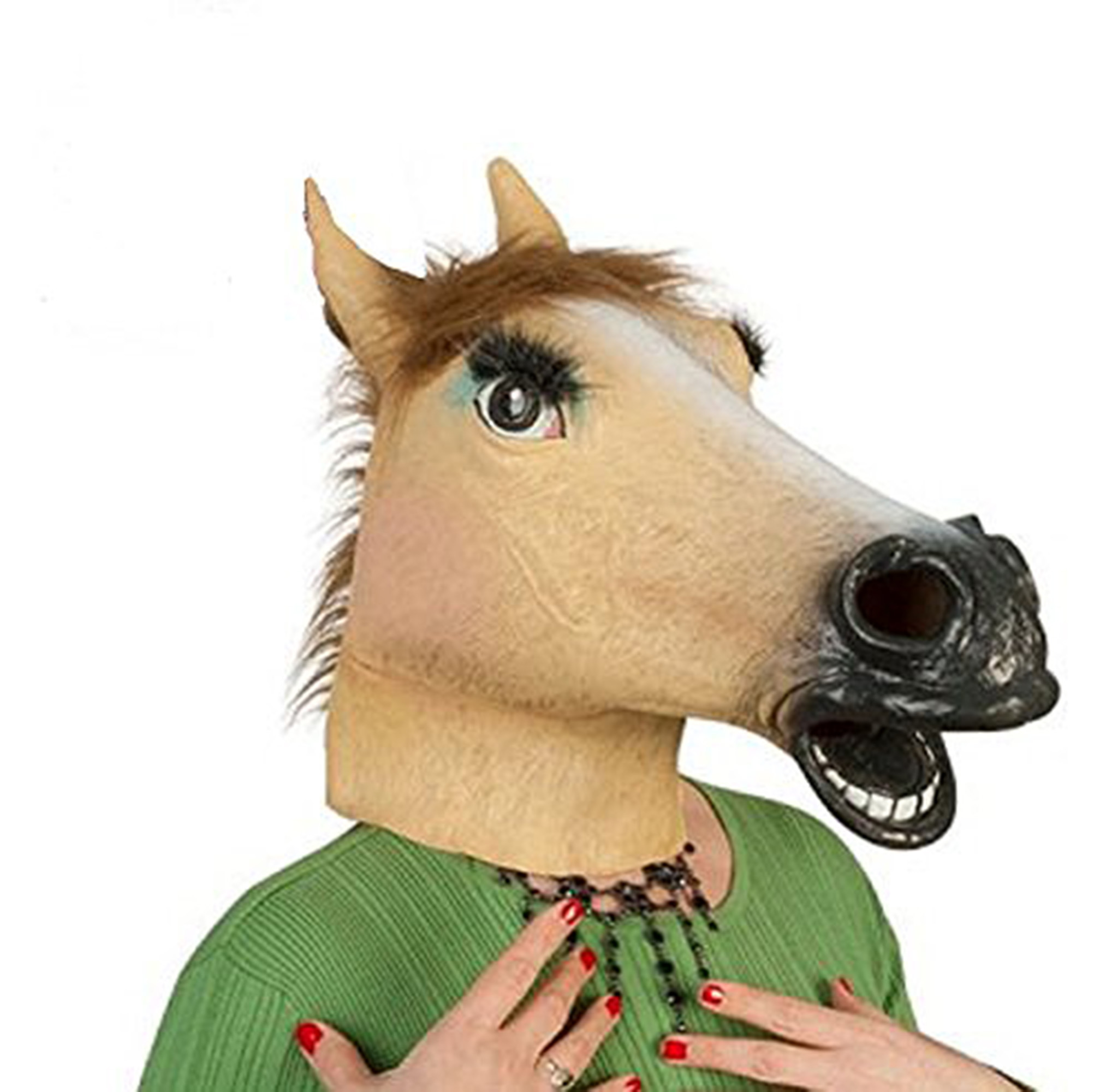 Accoutrements Lady Latex Horse Mask