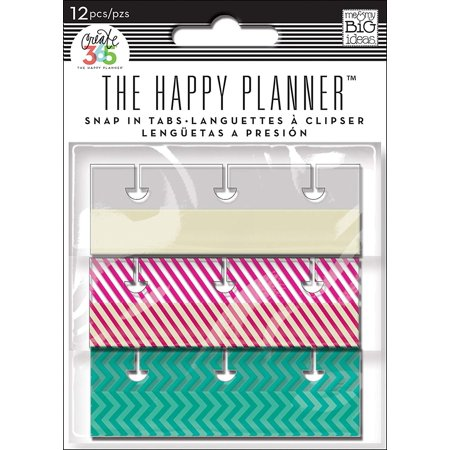 me & my BIG ideas Snap In Tabs, Fun Brights, Add these snap in tabs to your Happy Planner to make organizing it easier By Me My Big (Best Fun Date Ideas)