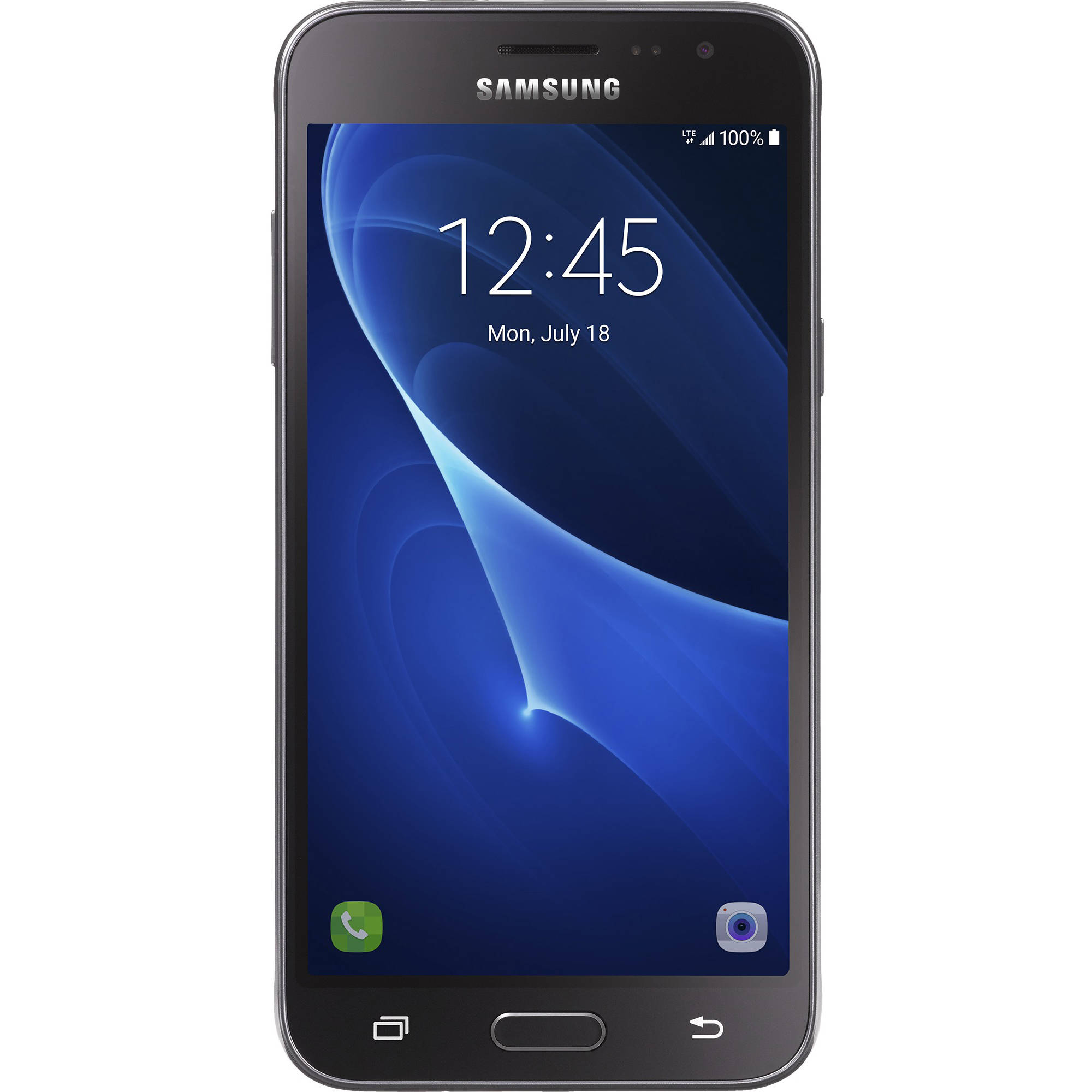 Straight Talk Samsung Galaxy J3 Sky 16GB Prepaid Smartphone, Black