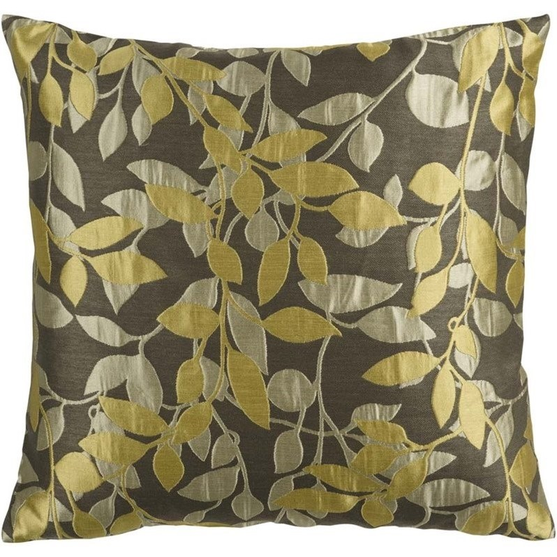 Surya Truro Decorative Pillow - Pewter