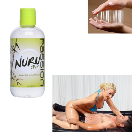 Nuru Couples Body to Body Massage Gel - 8 oz
