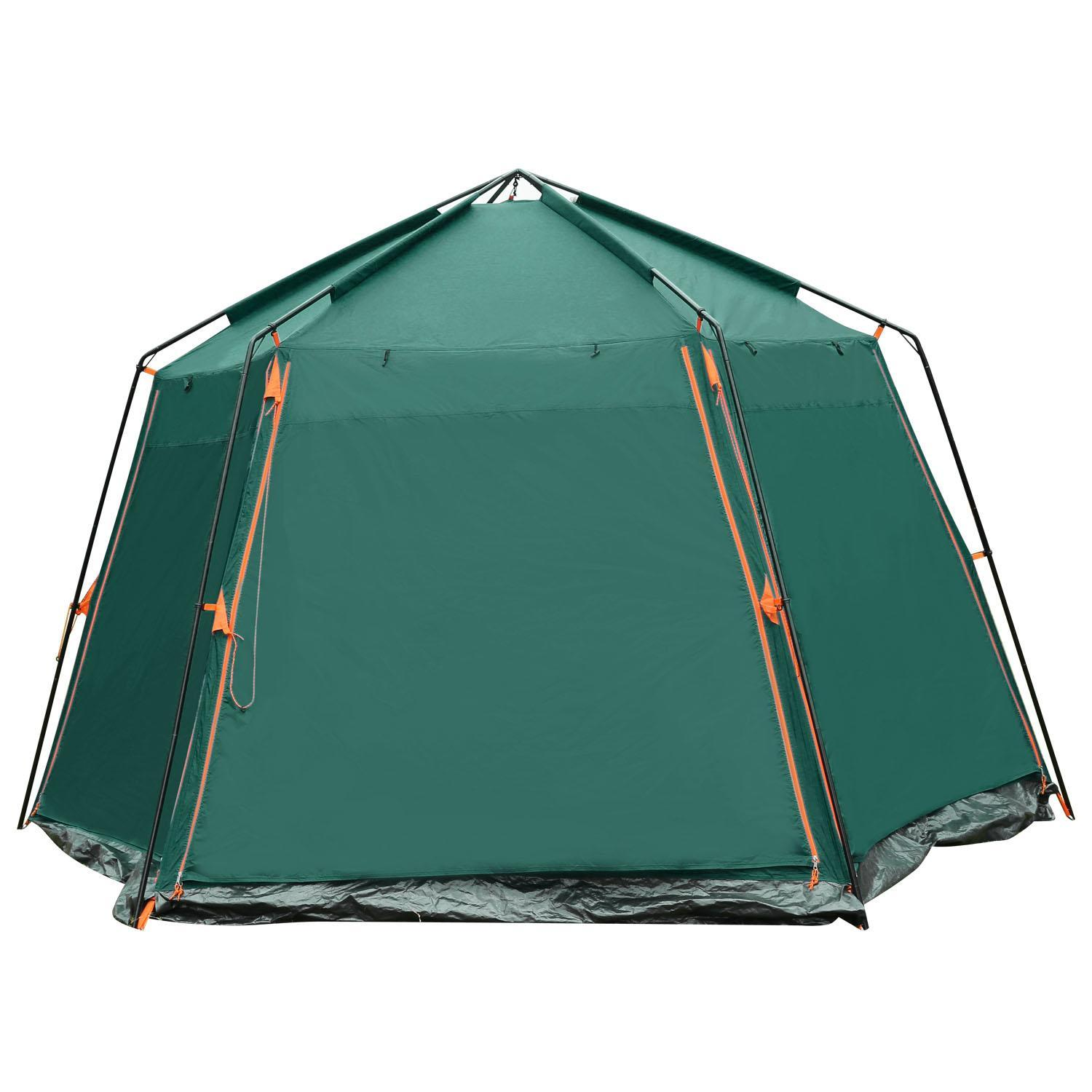 Wishmall Lager Waterproof Instant Tent 8-Person Family Cabin Tent with Two Doors WIMA by