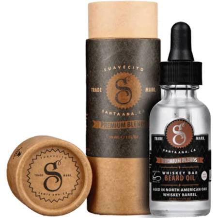Suavecito Premium Blends Whiskey Bar Beard Oil 1 (Best Whisky Brands For Health)