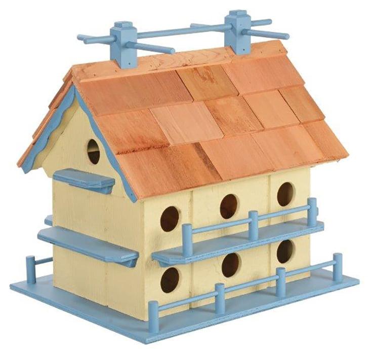 Wooden Martin Bird House
