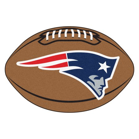 New England Patriots Football Mat