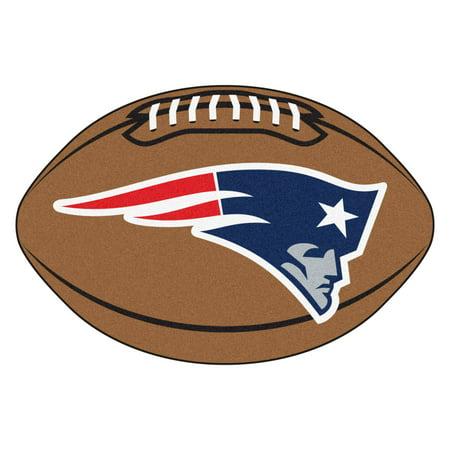 New England Patriots Football Mat
