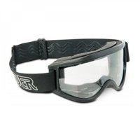 RAIDER MX GOGGLES - BLACK