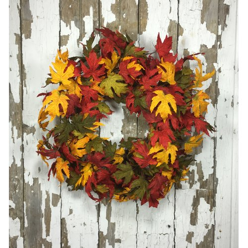 Darby Home Co 22'' Artificial Leave Wreath