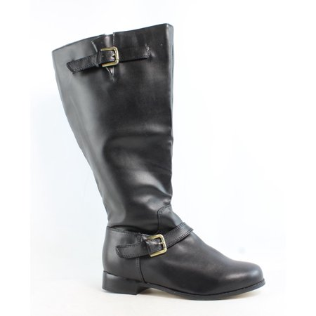 rsvp Womens Black Riding Boots Size 8.5