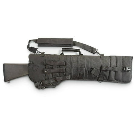 Mossberg 500 / Remington 870 Shotgun Tactical Scabbard Padded Sling Case Black